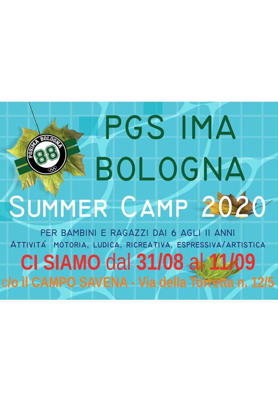 Realizzazione Volantino Campo estivo 2020